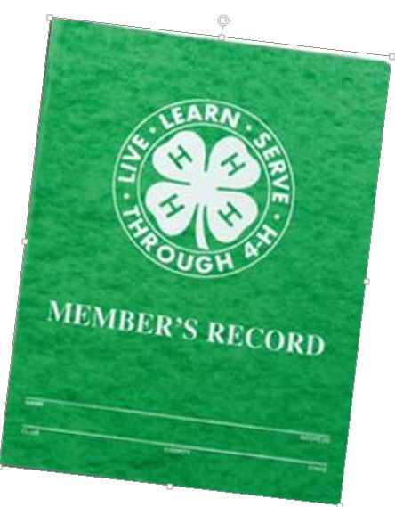 Record Book Cover