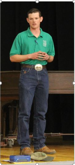 Wade Yoder-District 4 President