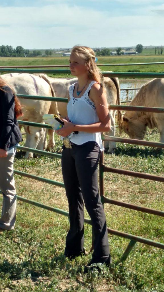 Madalene Buckner-Livestock Judging