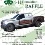 truck raffle flyer