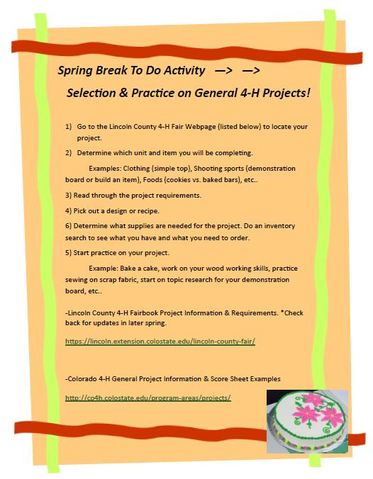 spring break practice