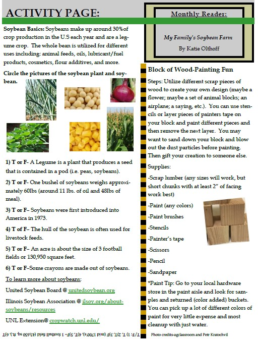 4H activity page